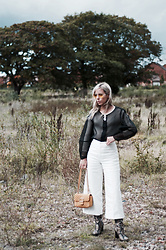 Daniella Robins - Isabel Marant Trousers, Uterque Bag - Monday's Style: Say It With Sheer