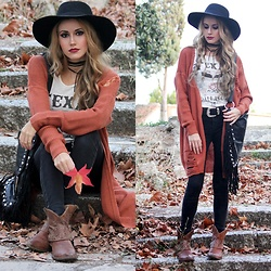 Irene Aspas - Zaful Cardigan - Texas