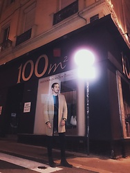 Anas EL Qarouni - H&M X David Beckham Essentials, Asos City Boots, Hublot Big Bang - Late night