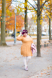 Ninaah Bulles - Grain De Malice Dress, La Halle Shoes, Mlle Botanik Flower Crown - Brussel park