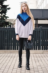 Lisa - Zaful Sweater, Zara Bag, Zara Boots - Perfect sweater