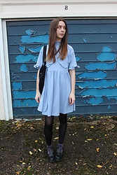 Chelsea Jade - Lazy Oaf Dress - Frilly Heart Boobs