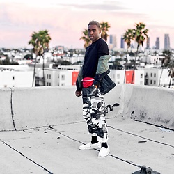 Willie Sparks - Urban Outfitters Pants - Rooftop Sunsets