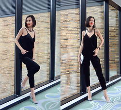 Daisyline . - Reserved Jumpsuit - My Holiday look / www.daisyline.pl