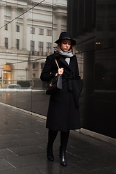 Julita B -  - Black outfit with hat