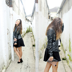 Isti Sugiharti - Zara Faux Leather Jacket - How Far I'll Go