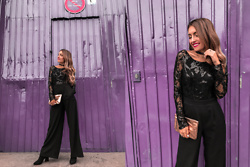 Catarina Pinto -  - SPARKLING BLACK JUMPSUIT