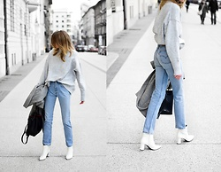Katarina Vidd - Items On My Blog, Levi's® Jeans - White boots