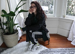 Wawa Baby - Adidas Sneakers, Warby Parker Glasses - I would rather go blind than to see you walk away