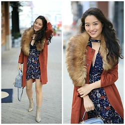 Kimberly Kong - Asos Floral Dress, Kadell Crossbody Bag - The Must Have $14 Dress + Other Bargain Finds
