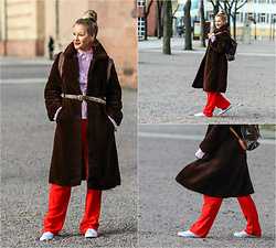 FRAU MORGENSTERN -  - Vintage Teddy Bear Coat