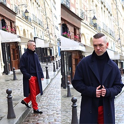 A'la mode garçon - Zara Coat, Acne Studios Polo Neck, Paul Smith Trouser, Paul Smith Shoes -  JOYFUL /Ala Mode Garcon