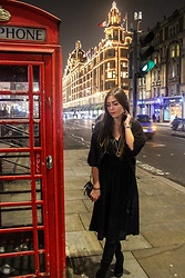 Marlena Laura @marlenalaura - Kappahl Dress, Zara Boots - London Look