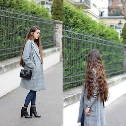 Dominika Kosik - Romwe Coat - The French Kissed Look
