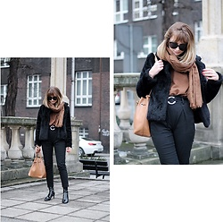 Martyna Lupa - H&M, Sinsay, Parfois, Zara - Soft brown and negative thoughts