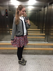 Lexa - My Hand Made Skirt, M&S Jacket, New Yorker Shirt, Sunlight Accessories - 142.