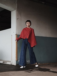 KESHIA Nathania -  - RED AND DENIM