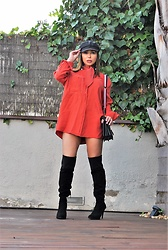 Nekane Smith - Mango Shirt/Dress - New Exciting Red