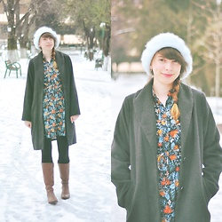 Ana B - Koton Dress - Minty Winter