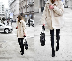 Katarina Vidd - All On My Blog, Teddy Coat - Teddy coat