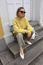 Anna Borisovna - H&M Sweater, H&M Pants, Mango Shoes - Freshness
