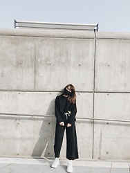 Jung Lynk - Adidas Stansmith, Jealous Culottes - Seoul Fashion Week !