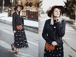 Gabriela Kugla - Na Kd Dress, Michael Kors Shoes, Chloé Bag, Stradivarius Hat - Polka Dots