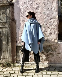 Virginia Kar -  - Baby Blue | thevirgostyle.blogspot.gr