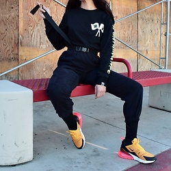 Alexis Boldt - Nike 270, Undefeated Collab Tee, A Bathing Ape Collab Tee - Air Max Day