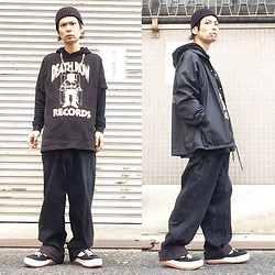 @KiD - Death Row Records 💀, Toga Nylon Jacket, Cheap Monday Buggy, Northwave Espresso - JapaneseTrash343