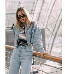 Sarah Spe -  - Denim on Denim Situation