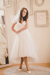 Aevoulette Benssalconia - Katty's Brides Dress, Valentino Shoes - Wedding Bells 6