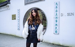 Maria P -  - Faux Fur, Leather & Cher