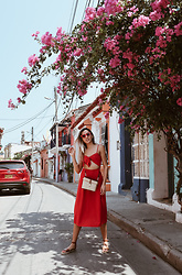 Raquel Paiva - Forever 21 Dress, Forever 21 Bag - In love with cartagena