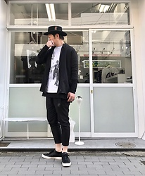★masaki★ - New York Hat Classic, Ch. Linen Jacket, David Bowie Diamond Dogs, Ch. Cropped, Converse Prime - Diamond dogs