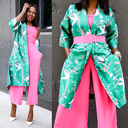 Monica Awe-Etuk -  - GO GREEN AND PINK – HOW TO STYLE GREEN AND PINK