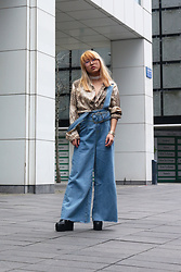 RuiJun L - To Save Denim Overalls - 80's MOMMA