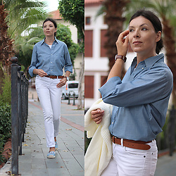 Minimalissmo .. - Massimo Dutti Belt, Zaful Pants - I'm Exploring