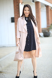 Kimberly Kong -  - Stylish Polka Dot Shirtdress Options Under $50