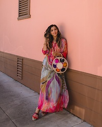 Jyotsna -  - Watercolor maxi