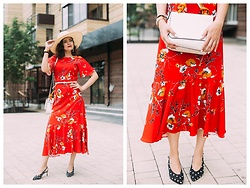 Katerina Lozovaya - Jollychic Dress, Asos Shoes, La Redoute Bag - THOUGHT CONTAGION