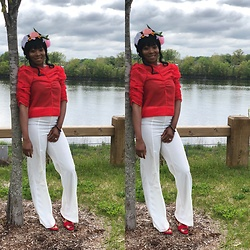 Saw Williams -  - Mother's Day outfit