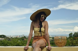 Cassey Cakes - Zaful Dress, H&M Skirt, Zaful Eyewear, Mango Hat - Cityview