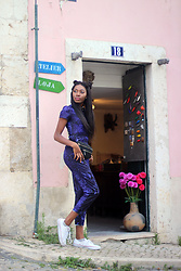 With Love, Banke Folashade - Missguided Jumpsuit, Converse Sneakers, Missguided Fanny Pack - Lisboa (withlovebanke.com)