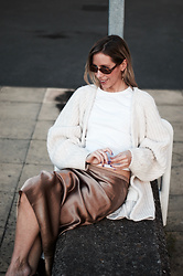 Daniella Robins - Vince Skirt - Why The Humble Flip Flop Is Making A Comback