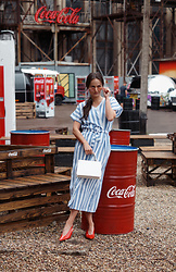 Ann Kos - Shein Dress - Coca Cola