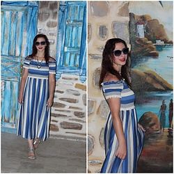 Rebel Takipte - Ami Club Wear Stripes Dress - Stripes Forever