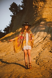 Alexe Bec - Doll Poupée Kimonos, Doll Poupée Hat Band - Golden Light