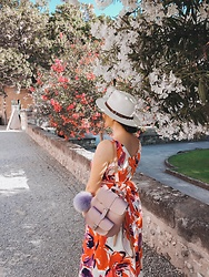 Katherine Adamenko - Grafea Backpack - Flowers