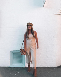 Georgina Walker - Boohoo Jumpsuit, Mango Bucket Bag - OOTD